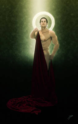 Saint Bacchus In Love Poster by Joaquin Abella