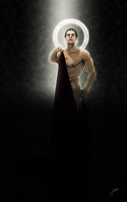 Saint Bacchus Poster by Joaquin Abella