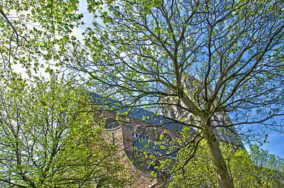 Saint Catharine's Church In Brielle Poster