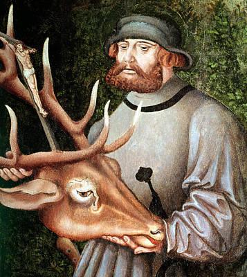 Saint Eustace Poster by Lucas the Elder Cranach