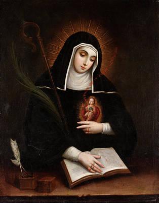 Saint Gertrude Poster