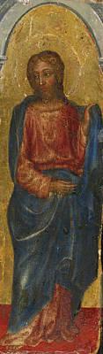 Saint Jude Thaddeus Poster by Gentile da Fabriano