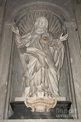 Saint Juliana Falconieri Poster