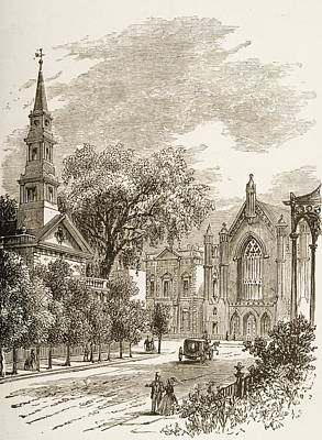 Saint Mark S Church In-the-bowery New Poster