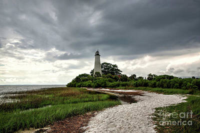 Saint Marks Lighthouse, Florida Poster by Felix Lai