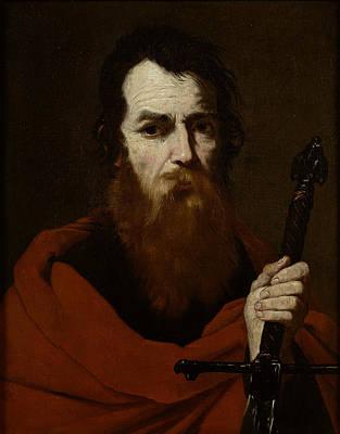 Saint Paul  Poster by Jusepe de Ribera