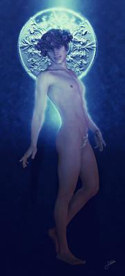 Saint Sergius Blue Poster by Joaquin Abella