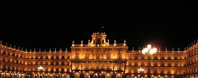 Salamanca Plaza Iv Spain Poster