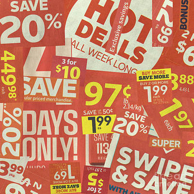Sale Clippings Poster