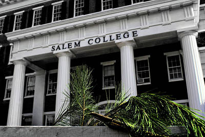 Poster featuring the photograph Salem College by Jessica Brawley