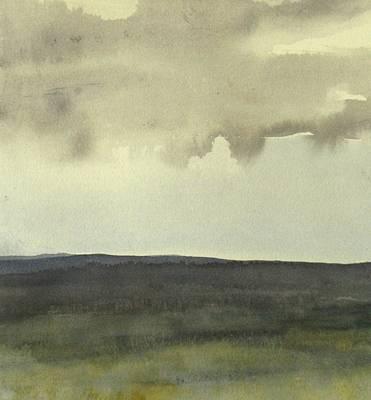 Salen Cloudy Weather. Up Tp 60 X 60 Cm Poster