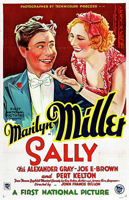 Sally 1929 Poster by Mountain Dreams