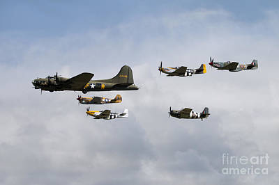 Sally B Anniversary Fly Past Poster