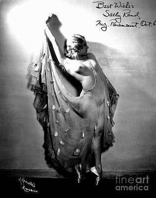 Sally Rand (1904-1979) Poster