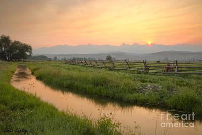 Salmon Sunrise Poster by Idaho Scenic Images Linda Lantzy