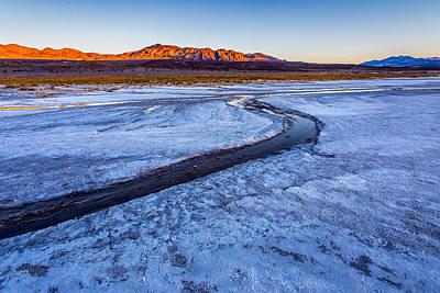 Salt Creek Death Valley Poster