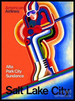 Salt Lake City Poster by Pd