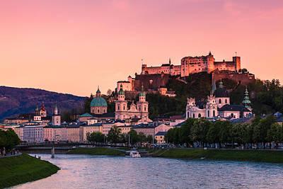 Salzburg 01 Poster by Tom Uhlenberg