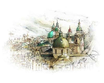 Salzburg Austria Poster by James Higgins