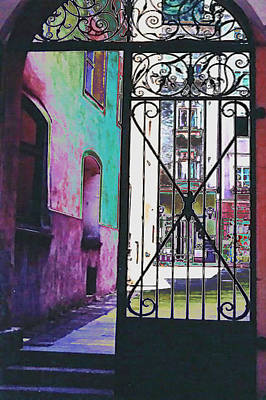 Poster featuring the photograph Salzburg Gate by Kate Word