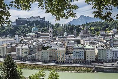 Salzburg Gorgeous Old Town Poster by Melanie Viola