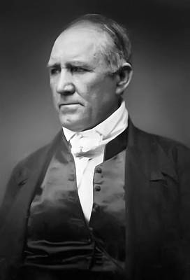 Sam Houston  1849 Poster