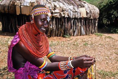 Samburu Beauty Poster by Michele Burgess