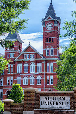 Samford Hall - Auburn University Poster
