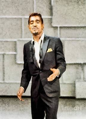Sammy Davis Jr., Hollywood Legend By John Springfield Poster