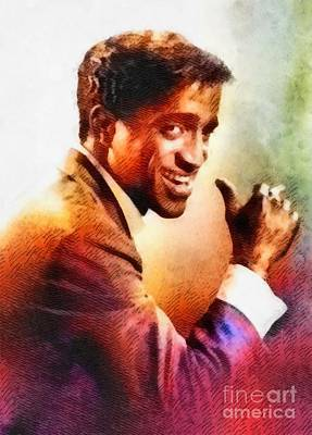 Sammy Davis, Jr., Vintage Hollywood Legend Poster