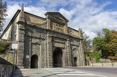 San Agostino Gate Poster by Germano Poli
