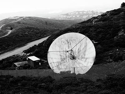 Poster featuring the photograph San Bruno Mountain San Francisco by Pacific Northwest Imagery