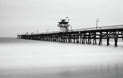 Poster featuring the photograph San Clemente Pier by Tassanee Angiolillo