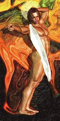San Curro Poster by Joaquin Abella