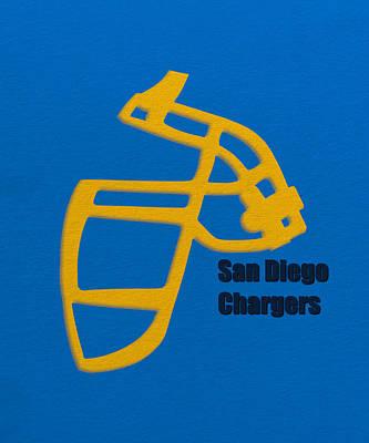 San Diego Chargers Retro Poster by Joe Hamilton