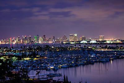 San Diego Skyline 4 Poster