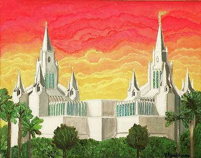 San Diego Temple Poster