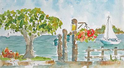 San Fran Bay From Sausalito Poster