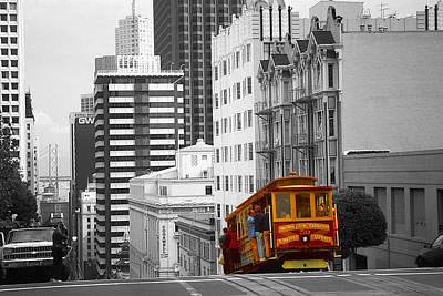 San Francisco Cable Car - Highlight Photo Poster
