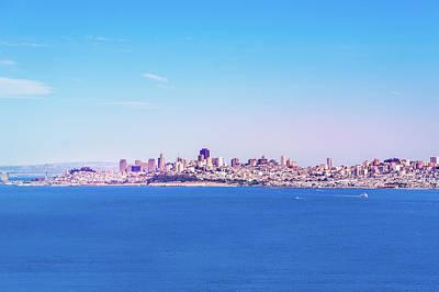 San Francisco Downtown Skyline Poster