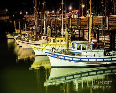 San Francisco Fisherman's Wharf Poster