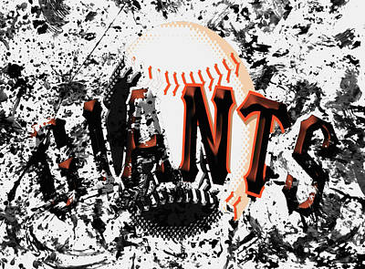 San Francisco Giants 6a Poster by Brian Reaves