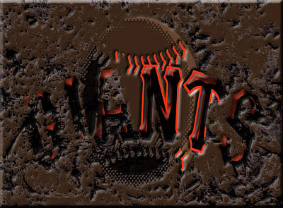 San Francisco Giants 6c Poster by Brian Reaves