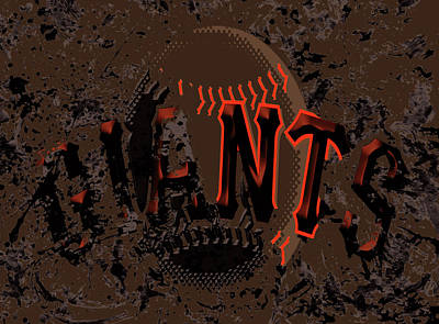 San Francisco Giants 6d Poster by Brian Reaves