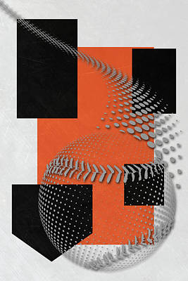 San Francisco Giants Art Poster by Joe Hamilton