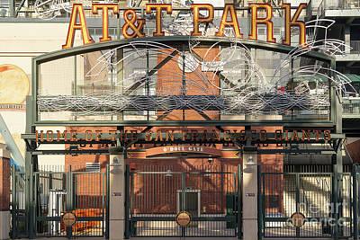 San Francisco Giants Att Park Juan Marachal O'doul Gate Entrance Dsc5778 Poster