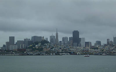 San Francisco Gray Poster by Gordon Beck