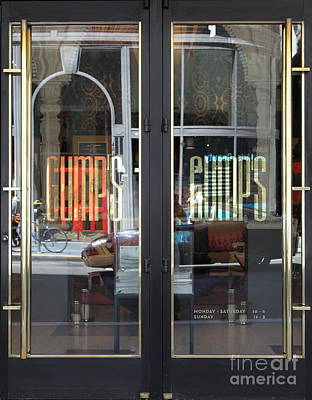 San Francisco Gumps Department Store Doors - Full Cut - 5d17094 Poster by Wingsdomain Art and Photography