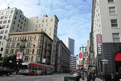 San Francisco - Jessie Street View Poster by Matt Harang