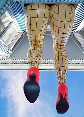 San Francisco Legs - Haight Ashbury Poster
